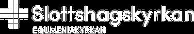 slottshagskyrkan logotyp vit