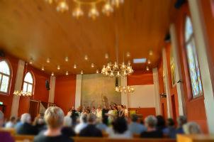 Gudstjänst i Slottshagskyrkan