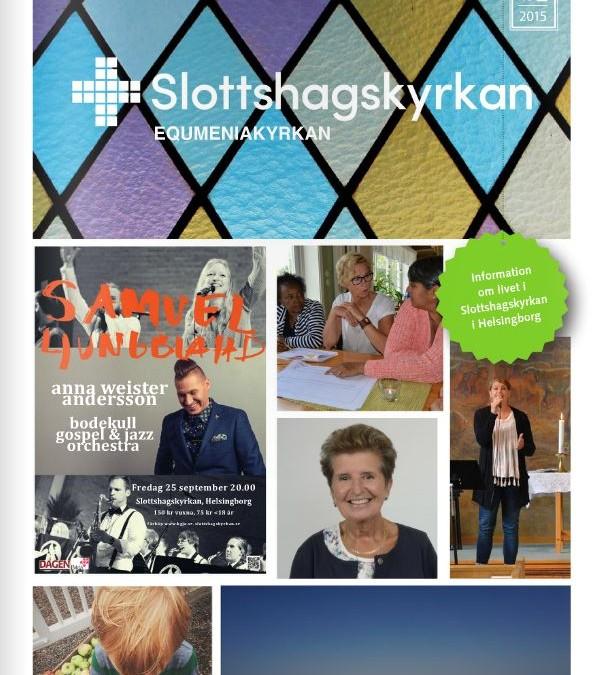 Slottshagskyrkans tidning nr 2 2015