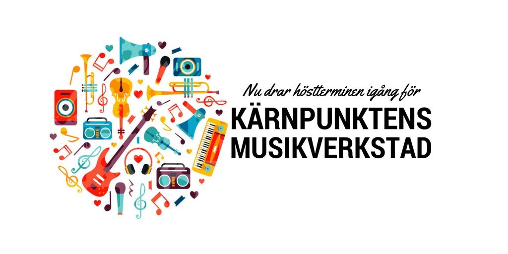 Höstterminen startar för Kärnpunktens musikverkstad