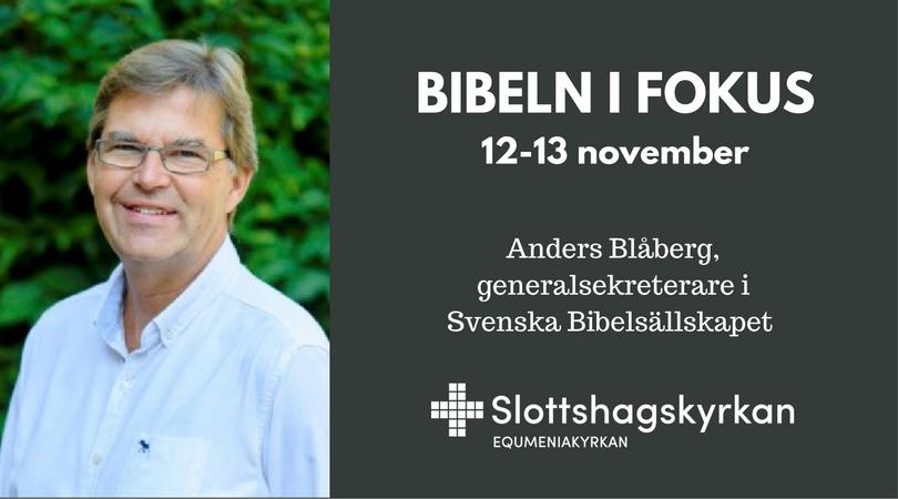 Bibeln i fokus 12-13 november