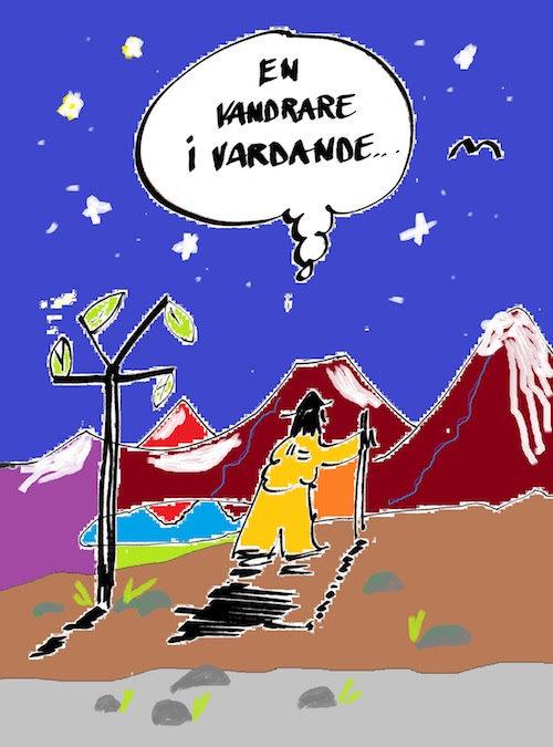 "Veckobrev 170514 – ""Pilgrim i vardande…"""