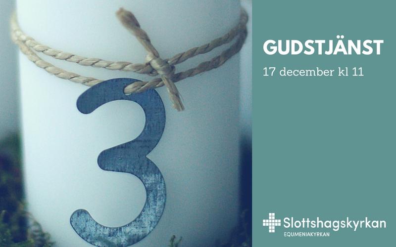 Gudstjänst 17 december