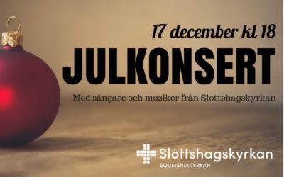 Julkonsert 17 december