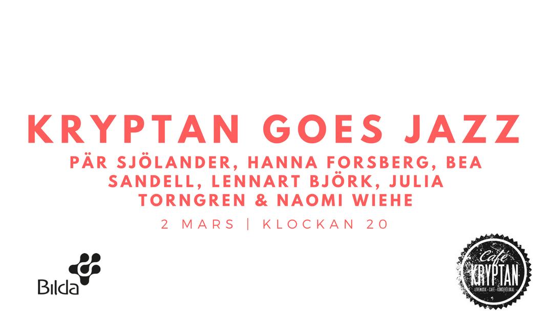 Kryptan goes jazz – 2 mars kl 20