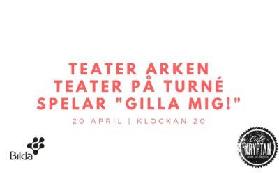 Kryptan 20 april – Teater Arken