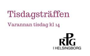 """RPG - """"Mitt liv med musiken"""" @ Slottshagskyrkan"""