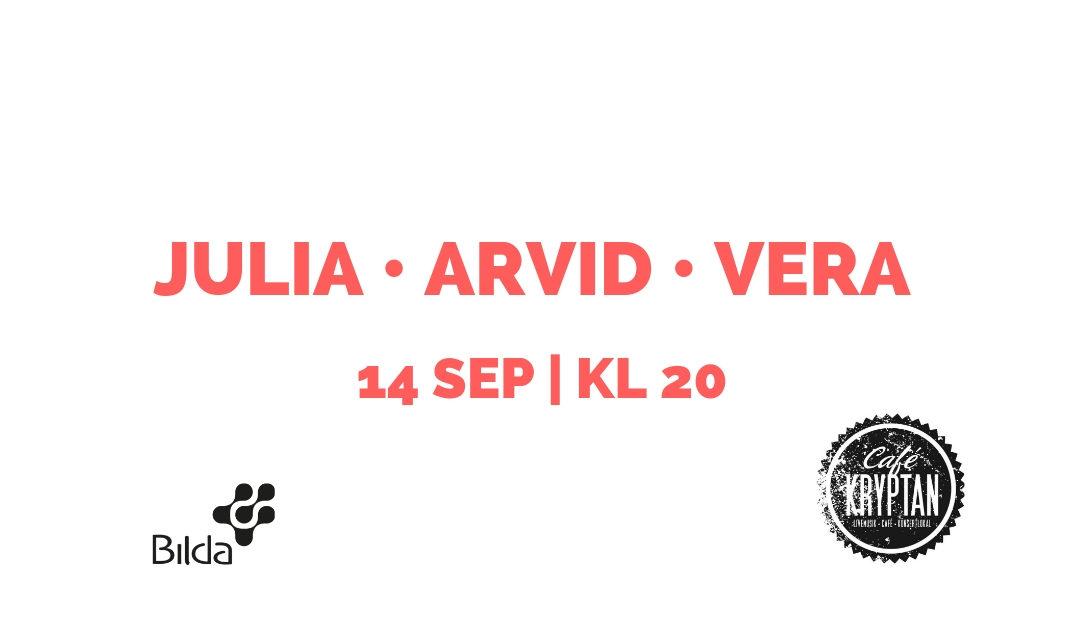 Kryptan 14 sep – Julia, Arvid & Vera
