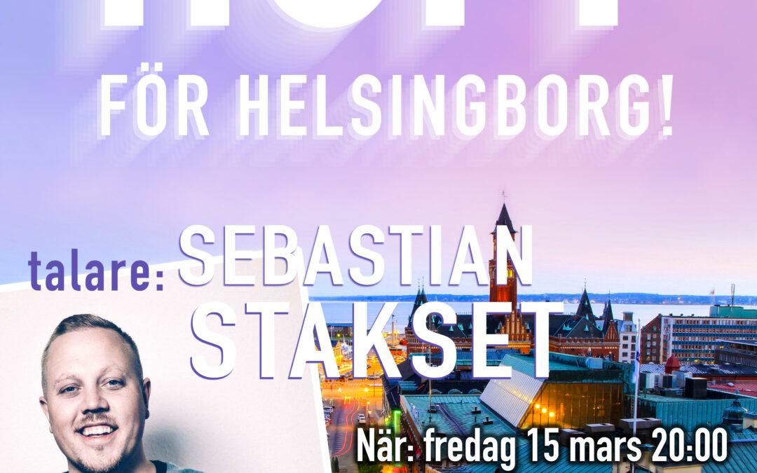 Hopp för Helsingborg – 15-16 mars