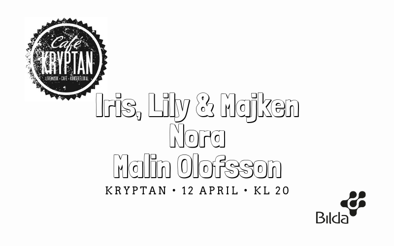 Kryptan – 12 april kl 20