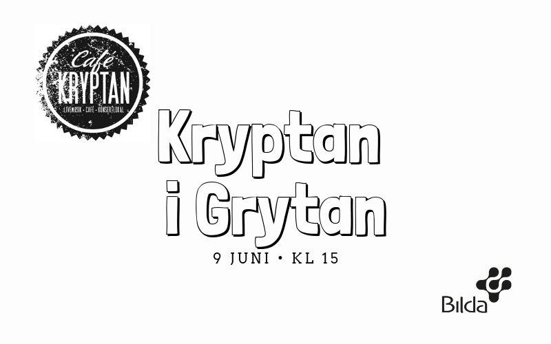 Kryptan i Grytan – 9 juni kl 15