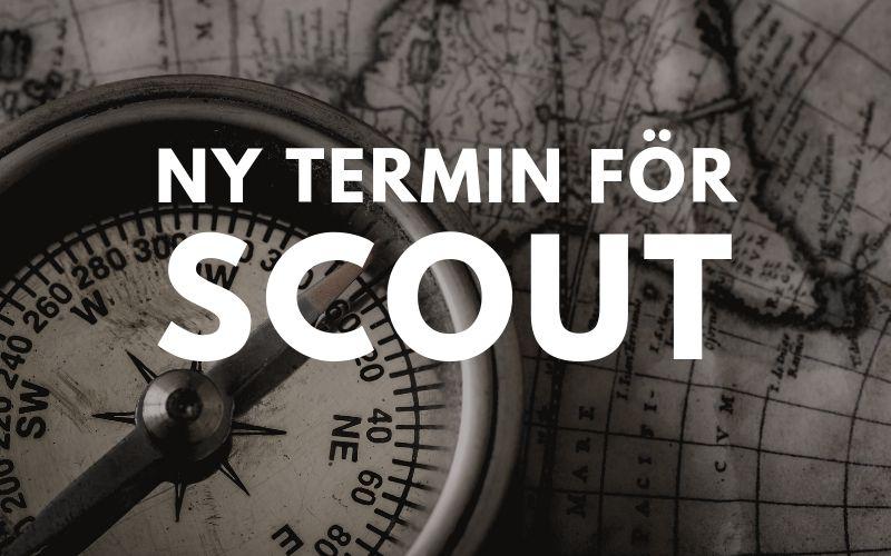 Terminsstart för scouterna