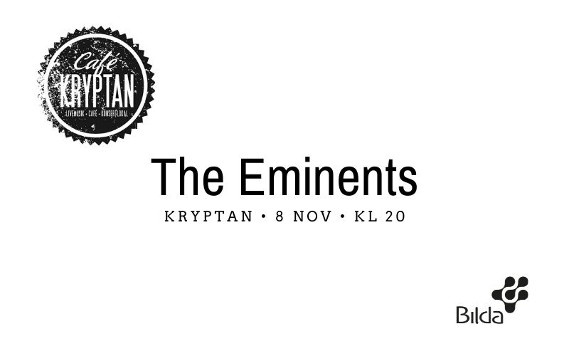 Kryptan 8 nov kl 20 – The Eminents