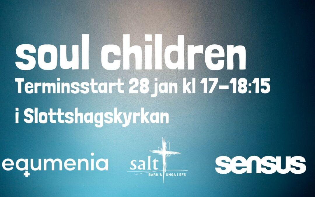Terminstart för Helsingborg Soul Children – 28 januari