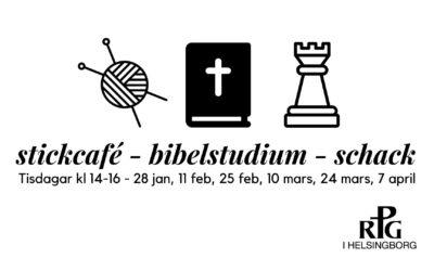 Stickcafé – bibelstudium – schack