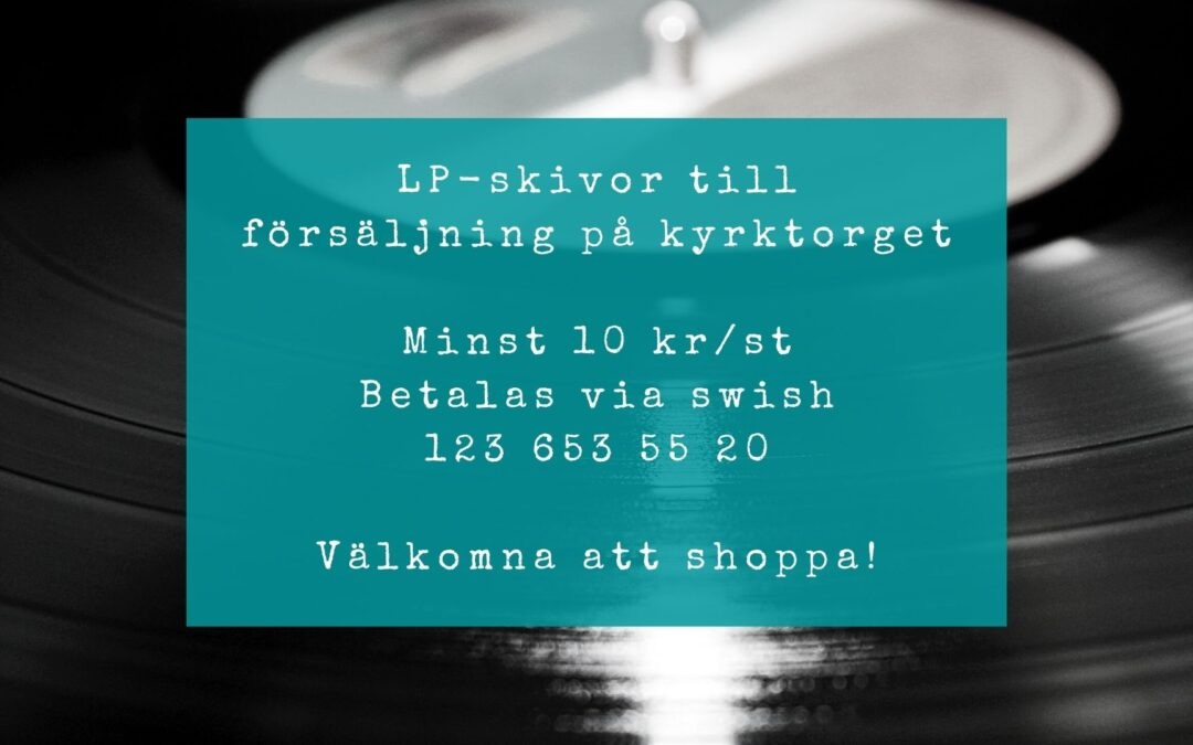 LP-skivor till försäljning!