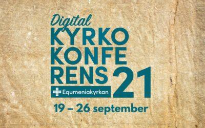 Digital kyrkokonferens 19-26 september 2021