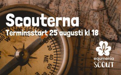 Scout – Terminsstart 25 augusti