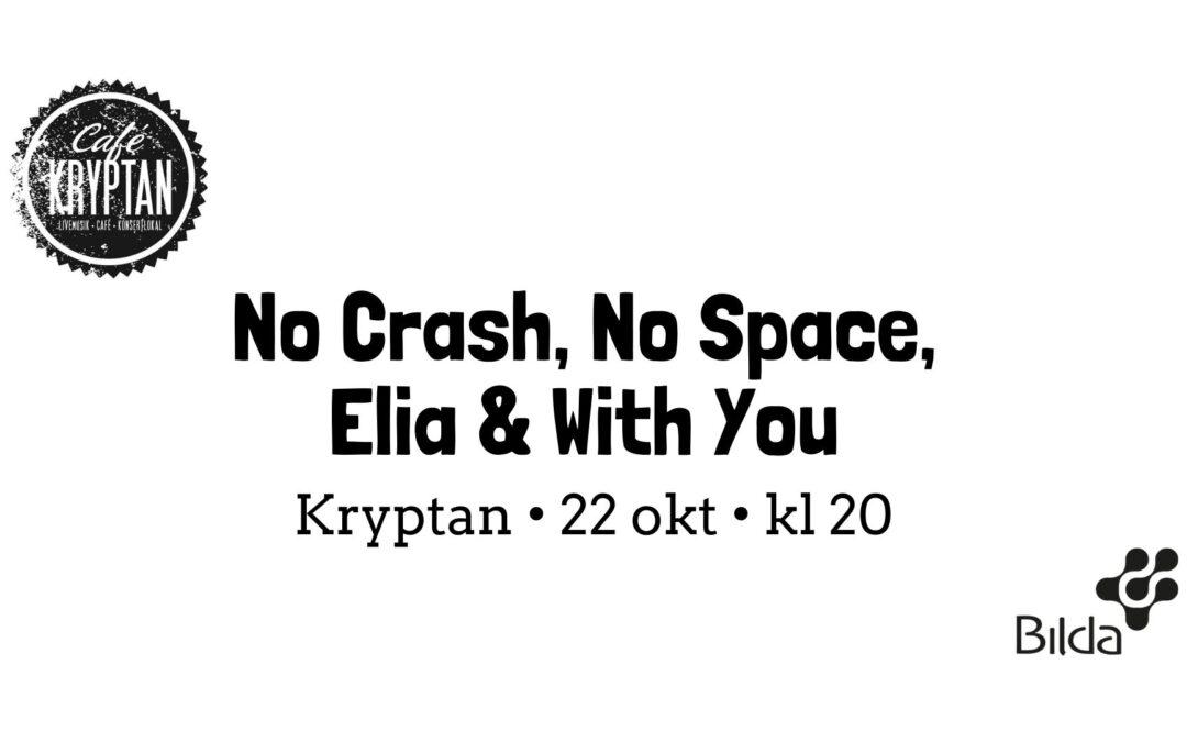 Ungdomskväll på Café Kryptan – 22 okt kl 20