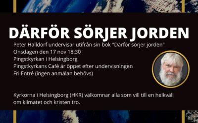 HKR bjuder in till en kväll med Peter Halldorf – 17 nov kl 18:30